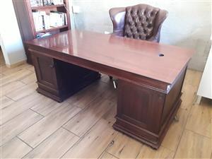 Wetherley's Desk