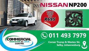 NISSAN NP200 RADIATOR FANS FOR SALE