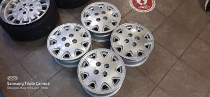 14 Inch OEM Toyota GLi Twincam rims
