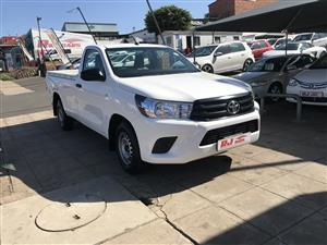 2016 Toyota Hilux 2.0 S