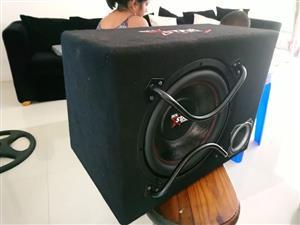 """Star sound 12"""" sub n box"""