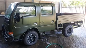 Double cab nissan truck
