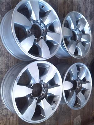 "16"" Toyota Diamond cut mags only"