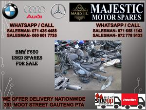 Bmw F650 used bike spares for sale