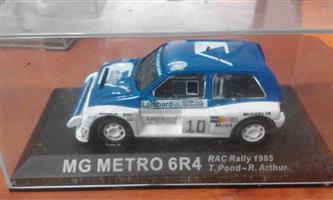 MG Metro 6R4 racing car