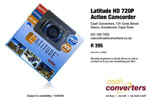 Latitude HD 720P Action Camcorder