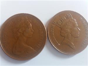Rare Minting Error 1971 new 2p