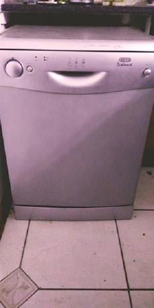 Defy silver dishwasher