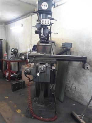 Lagun Variable Speed Turret type Mill