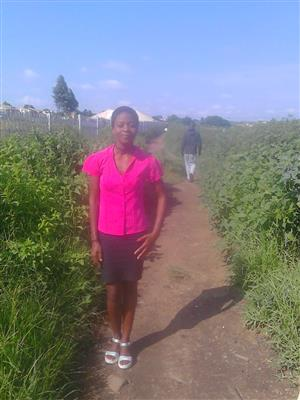 Experience Domestic/Nanny Kwanele 34 years old from Joburg needs live in/out today
