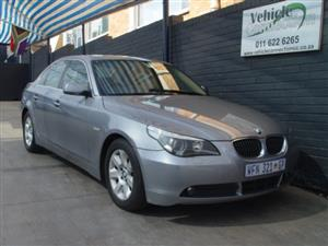 2006 BMW 5 Series 523i Exclusive