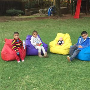 vSCHOOL or HOME bean bags for (1 to 4years old) very comfortable and cheap price order Now.....