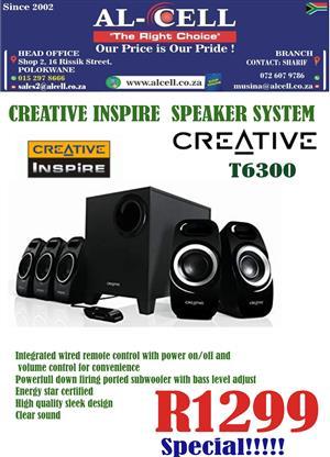 Creative Inspire 5.1 T6300 Speaker System