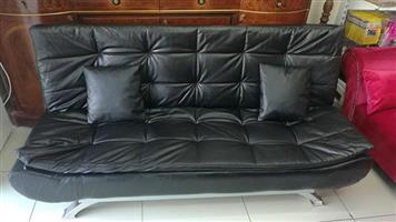 Brand new leather sleeper couch