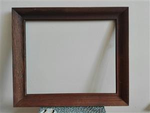 Oak picture frame 530mm X 450mm.