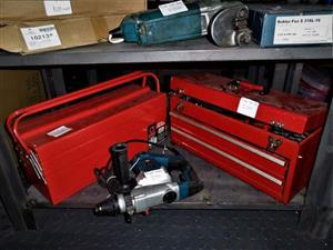 2 Red tool boxes for sale