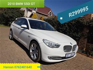 2010 BMW 5 Series Gran Turismo 550i GT Luxury