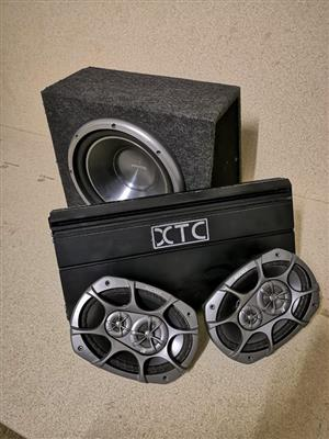 Kenwood car sound for sale  Bloemfontein