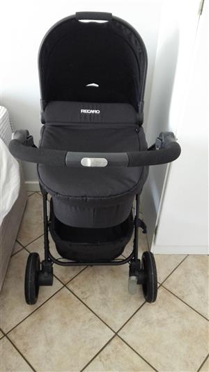 Recaro pram and car seat set