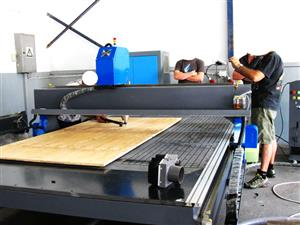 R-2030LC/30 EasyRoute 380V Lite 2050x3050mm Aluminium T-Slot Clamping CNC Router, 3kW