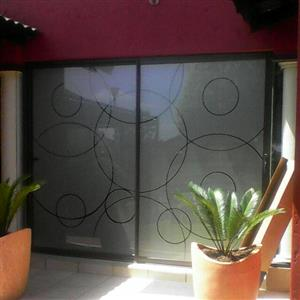 Decorative sandblasting & tinting