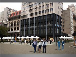 Church Square next to Parliament Prime Retail Space ideal for F & B business w/outside seating ~ 214m²
