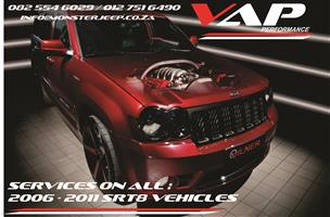 Jeep Grand Cherokee SRT8 Service (Minor & Major)
