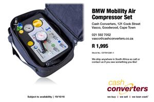BMW Mobility Air Compressor Set