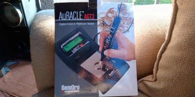 Auracle Gemorro AGT3 Platinum & Gold Tester, Acid Test, Electronic Scale Full Kit