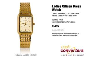 Ladies Citizen Dress Watch