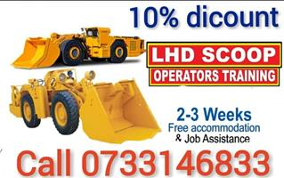 certificate Drill rig LHD 777 / ADT dump Excavator Grader Bulldozer training boilermaker course 0733146833