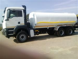 WATER TANKERS AVAILABLE FOR YOU