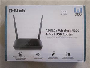 D-Link ADSL Router - Brand New - Still boxed & Sealed