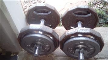 30 Kg Adjustable Dumbell Set