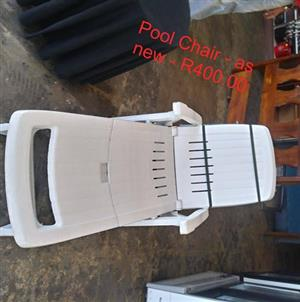 Pool chair for sale