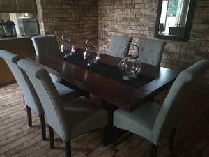 Six Seater Dining Room Set
