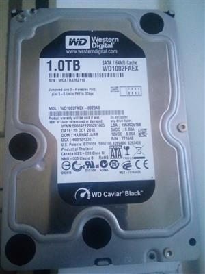 1 TB Hardrive for sale