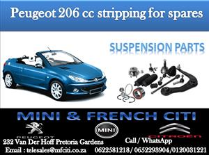 Suspension parts On Big Special for Peugeot 206  cc