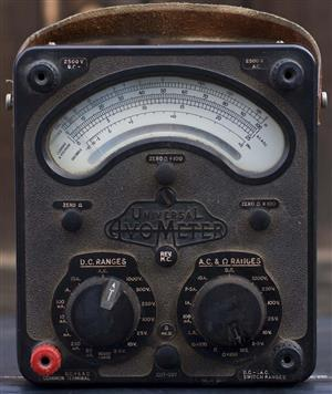 Antique Avometer in working condition