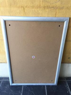 Various Point of sale Snapper display frames - see prices and sizes below