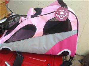DOGS LIFE - PINK DOG CARRIER - BRAND NEW
