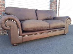Coricraft Afrique ZAMBEZI WHISKEY BROWN Seater Couch for sale