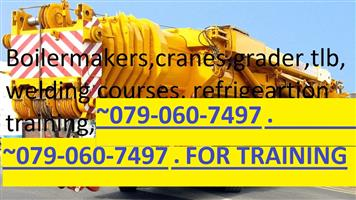 ARTISAN COURSES.EDUCATIONAL COURSE.CRANE.MACHINERY.0794338140.GRADER. CRANES.BOILERMAKER.WELDING.PLANT MACHINE CERTIFICATE