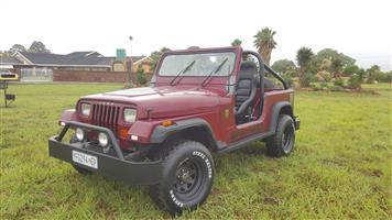 1996 Jeep Wrangler 3.6L Rubicon