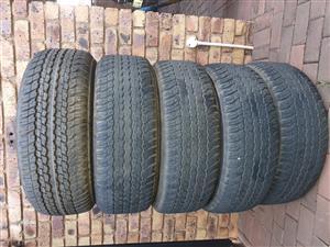 Dunlop Grandtrek 265/60R18
