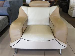 Synthetic Leather Occasional Chair R 3900