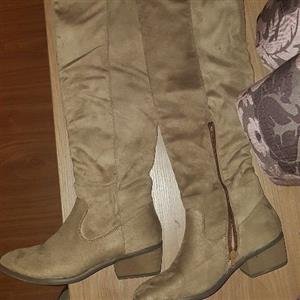 brand new long boots size 5