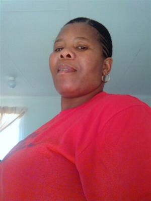 Active LESOTHO lady with genuine refs needs domestic work