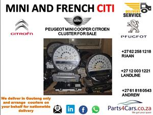 Mini cooper cluster for sale