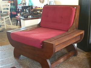 Retro Mahogany Chairs